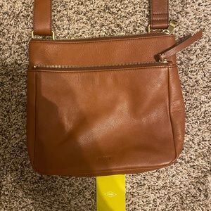 Leather Fossil Purse crossbody